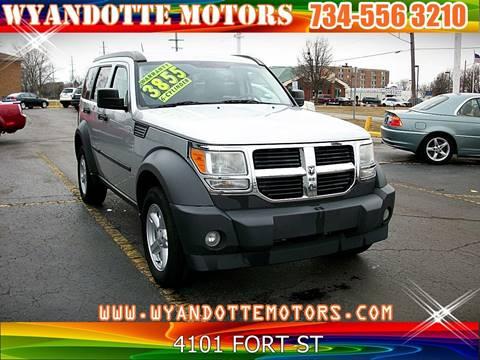 2007 Dodge Nitro for sale at Wyandotte Motors in Wyandotte MI