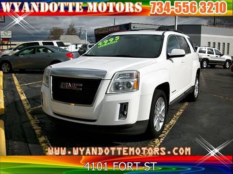 2011 GMC Terrain for sale at Wyandotte Motors in Wyandotte MI