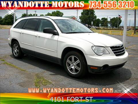 2008 Chrysler Pacifica for sale at Wyandotte Motors in Wyandotte MI