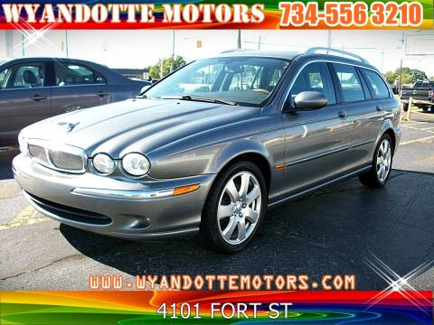 2006 Jaguar X-Type for sale at Wyandotte Motors in Wyandotte MI