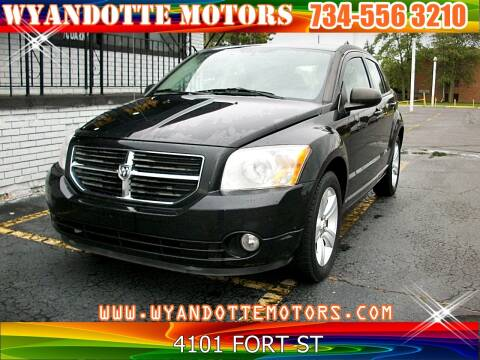 2011 Dodge Caliber for sale at Wyandotte Motors in Wyandotte MI