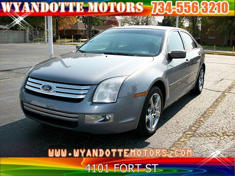 2007 Ford Fusion for sale at Wyandotte Motors in Wyandotte MI