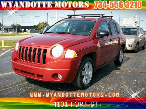 2009 Jeep Compass for sale at Wyandotte Motors in Wyandotte MI