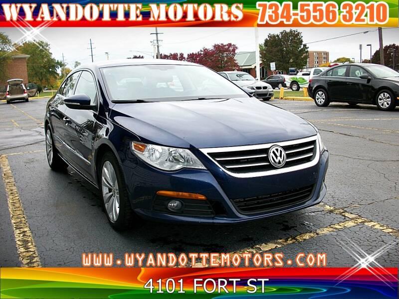 2009 Volkswagen CC for sale at Wyandotte Motors in Wyandotte MI