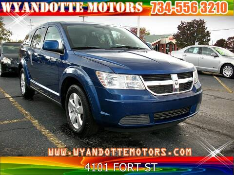 2009 Dodge Journey for sale at Wyandotte Motors in Wyandotte MI