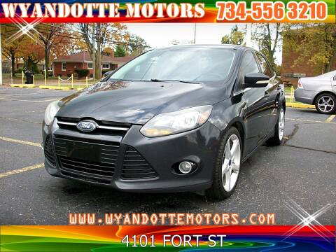 2013 Ford Focus for sale at Wyandotte Motors in Wyandotte MI