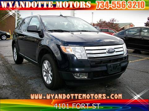 2010 Ford Edge for sale at Wyandotte Motors in Wyandotte MI
