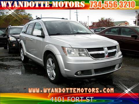 2010 Dodge Journey for sale at Wyandotte Motors in Wyandotte MI