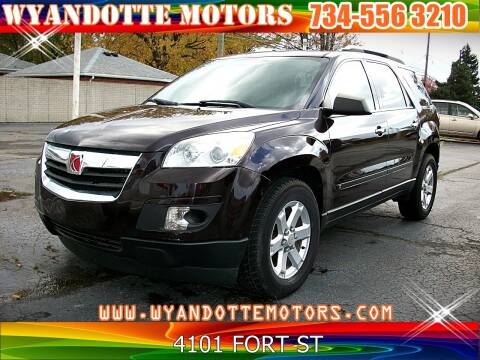 2008 Saturn Outlook for sale at Wyandotte Motors in Wyandotte MI