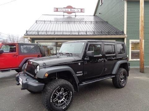 2010 Jeep Wrangler Unlimited for sale in Lancaster, NH
