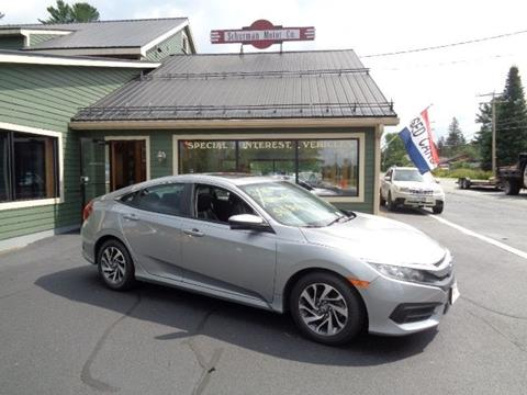 2016 Honda Civic for sale in Lancaster, NH