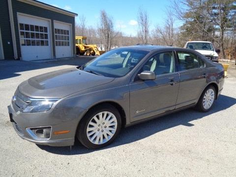 2012 Ford Fusion Hybrid for sale in Lancaster, NH