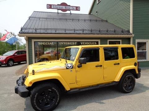 2015 Jeep Wrangler Unlimited for sale in Lancaster, NH