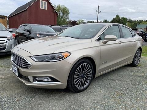 2018 Ford Fusion Hybrid for sale in Lancaster, NH