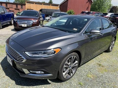 2018 Ford Fusion for sale in Lancaster, NH