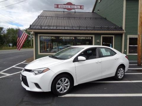 2015 Toyota Corolla for sale in Lancaster, NH