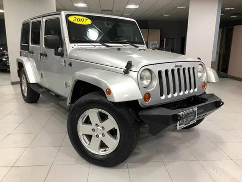 2007 Jeep Wrangler Unlimited for sale in Springfield, IL