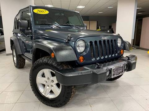 2007 Jeep Wrangler for sale in Springfield, IL