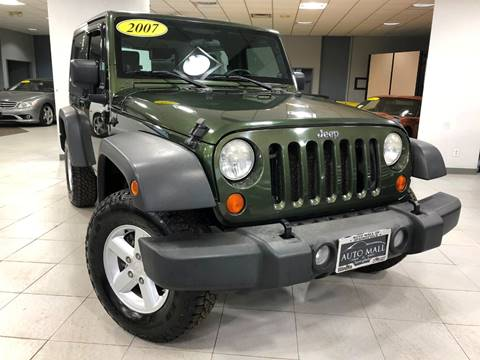 2007 Jeep Wrangler for sale in Springfield, IL