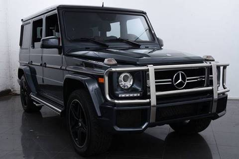 2016 Mercedes-Benz G-Class AMG G 63 for sale at Auto Mall of Springfield in Springfield IL