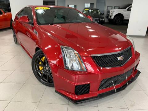 2012 Cadillac CTS-V for sale at Auto Mall of Springfield in Springfield IL