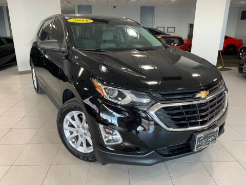 2018 Chevrolet Equinox for sale at Auto Mall of Springfield in Springfield IL
