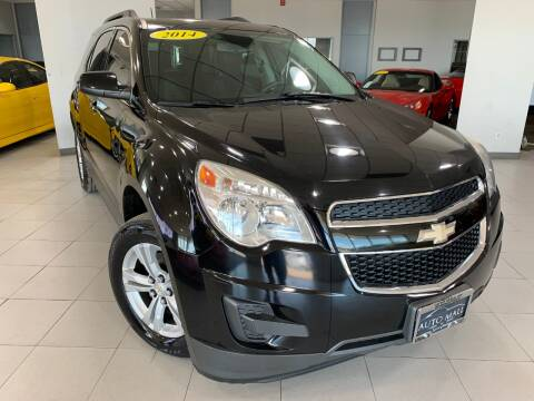 2014 Chevrolet Equinox for sale at Auto Mall of Springfield in Springfield IL