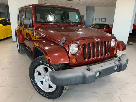 2007 Jeep Wrangler Unlimited for sale at Auto Mall of Springfield in Springfield IL