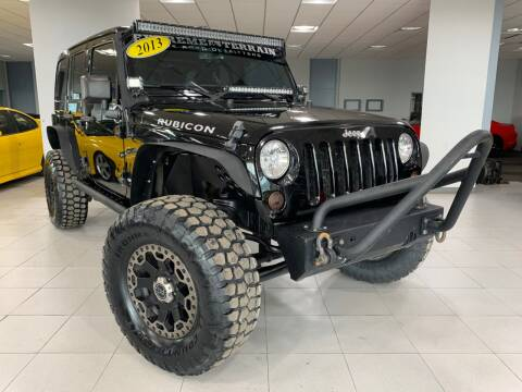 2013 Jeep Wrangler Unlimited for sale at Auto Mall of Springfield in Springfield IL