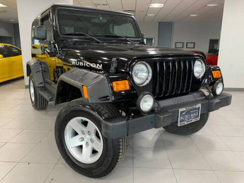 2004 Jeep Wrangler for sale at Auto Mall of Springfield north in Springfield IL