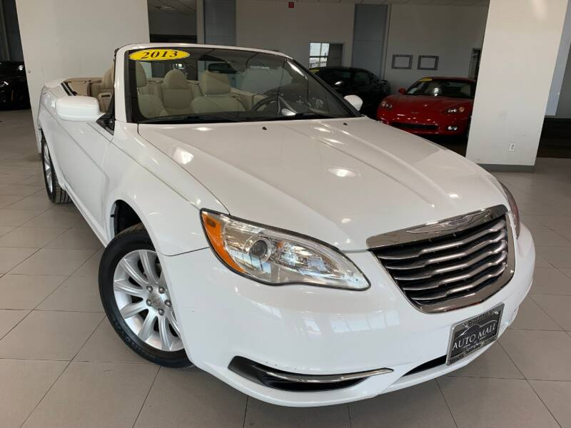 2013 Chrysler 200 Convertible for sale at Auto Mall of Springfield north in Springfield IL