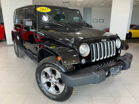 2017 Jeep Wrangler Unlimited for sale at Auto Mall of Springfield north in Springfield IL