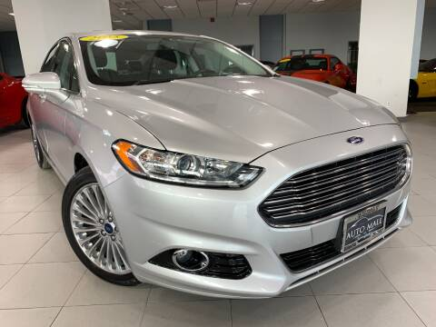 2015 Ford Fusion for sale at Auto Mall of Springfield in Springfield IL