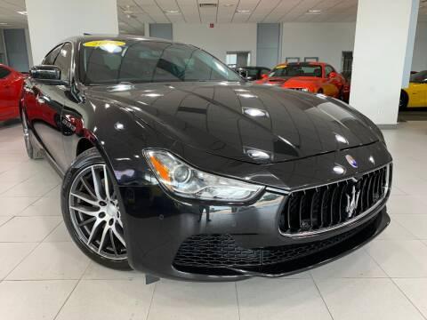 2015 Maserati Ghibli for sale at Auto Mall of Springfield in Springfield IL