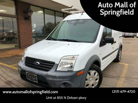 2012 Ford Transit Connect for sale at Auto Mall of Springfield north in Springfield IL