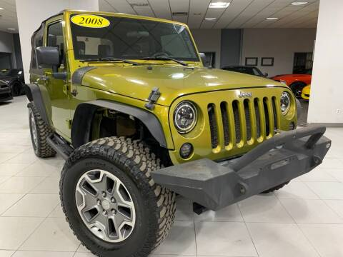 2008 Jeep Wrangler for sale at Auto Mall of Springfield in Springfield IL