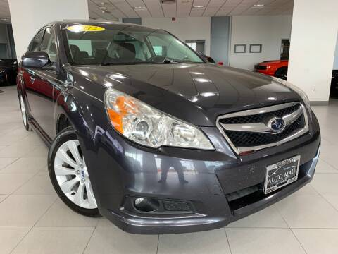 2012 Subaru Legacy for sale at Auto Mall of Springfield in Springfield IL