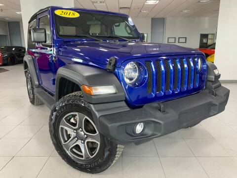 2018 Jeep Wrangler for sale at Auto Mall of Springfield in Springfield IL