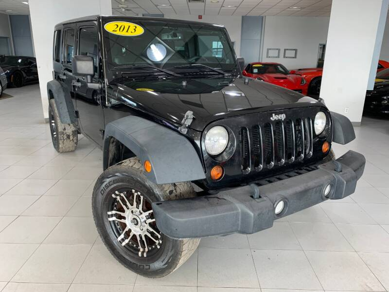 2013 Jeep Wrangler Unlimited for sale at Auto Mall of Springfield north in Springfield IL