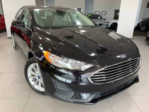 2019 Ford Fusion Hybrid for sale at Auto Mall of Springfield in Springfield IL