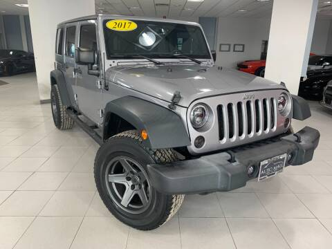 2017 Jeep Wrangler Unlimited for sale at Auto Mall of Springfield in Springfield IL