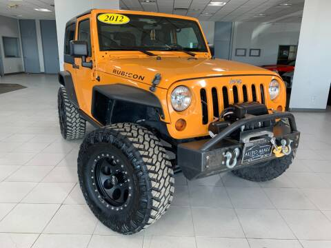2012 Jeep Wrangler for sale at Auto Mall of Springfield in Springfield IL