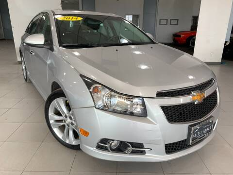 2014 Chevrolet Cruze for sale at Auto Mall of Springfield in Springfield IL