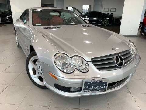 2003 Mercedes-Benz SL-Class for sale at Auto Mall of Springfield in Springfield IL