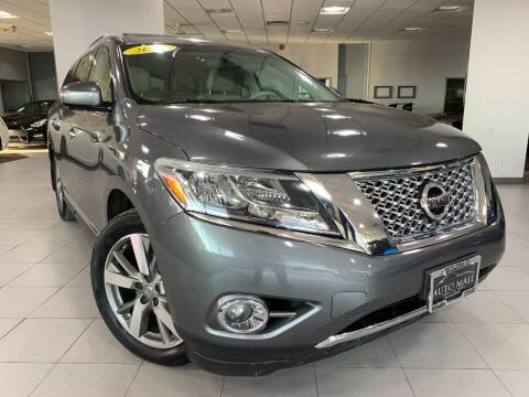 2015 Nissan Pathfinder for sale at Auto Mall of Springfield in Springfield IL