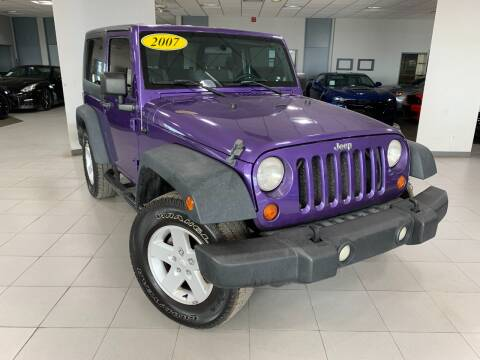 2007 Jeep Wrangler for sale at Auto Mall of Springfield in Springfield IL