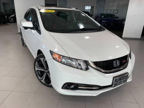 2015 Honda Civic for sale at Auto Mall of Springfield in Springfield IL