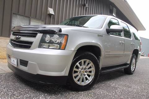 2011 Chevrolet Tahoe Hybrid for sale at TRUST AUTO in Sykesville MD