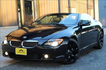 2005 BMW 6 Series for sale at TRUST AUTO in Sykesville MD