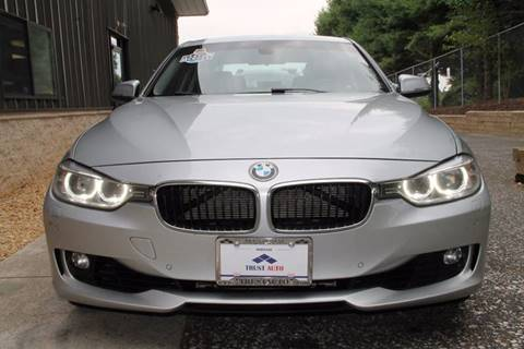 2013 BMW 3 Series for sale at TRUST AUTO in Sykesville MD